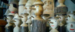 Pinocchietti in legno